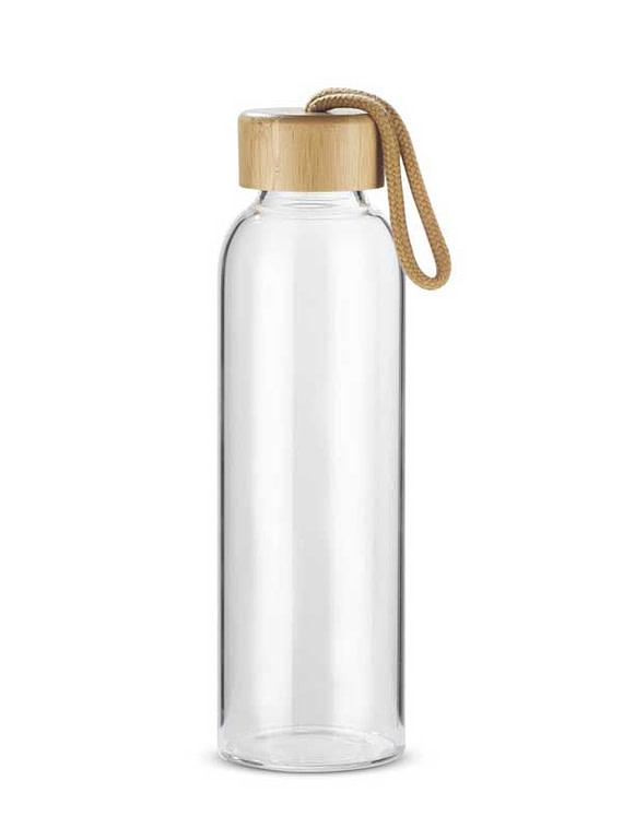 Photo de la bouteille en verre