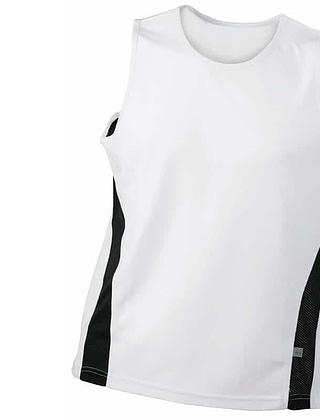 Tee-shirt-sport-homme-blanc-noir-JN305