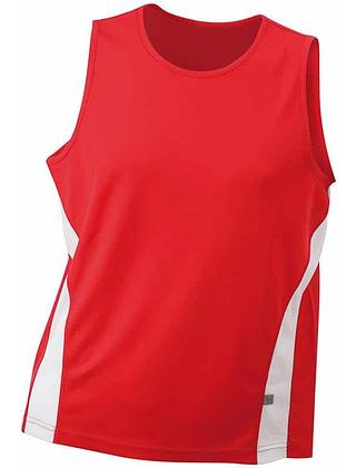 Tee-shirt-sport-homme-rouge-blanc-JN305