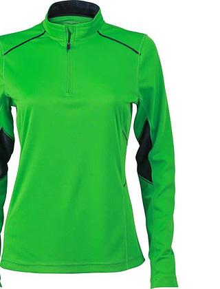 Tee-shirt_femme_ML_vert_gris-fer_Devant_JN473