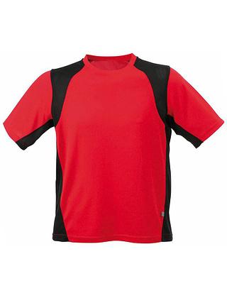 Tee-shirt-sport-homme-rouge-noir-JN306C