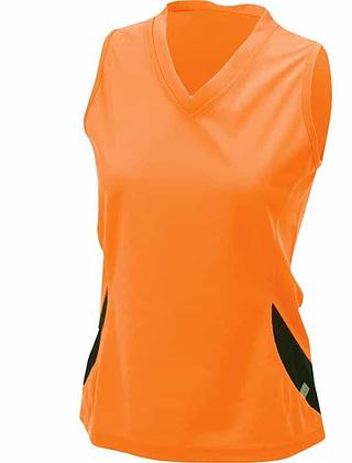 Tee-shirt_technique_Femme_SM_orange_Devant_JN315