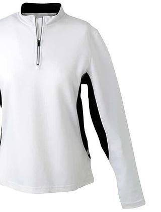 Tee-shirt-sport-femme-blanc-noir-JN317C