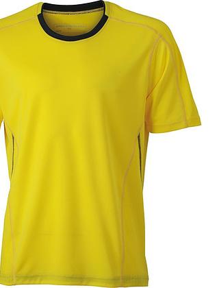 Tee-shirt_homme_MC_citron_gris-fer_Devant_JN472